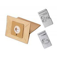 Sacs papier (x6) Compacteo & Accessimo Aspirateur Moulinex (ZR003901)