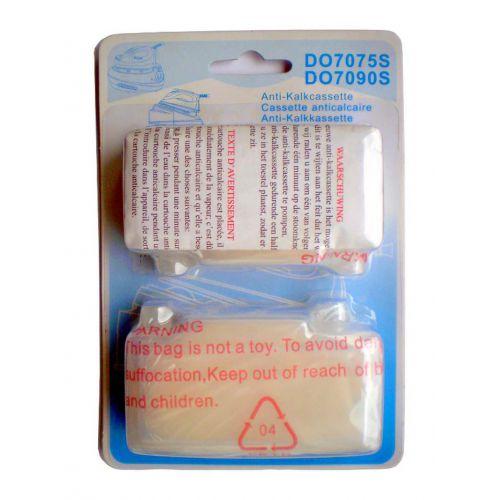 Cassettes (x2) anti-calcaire Générateur vapeur Domo (DO7075S)