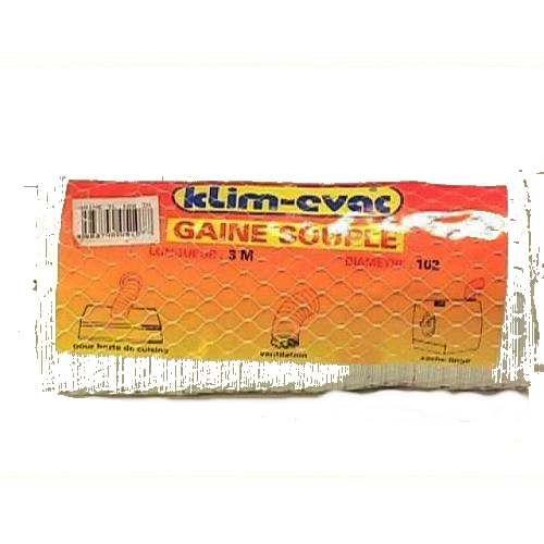 Gaine PVC  3 mètres/Diam 100mm Sèche Linge...