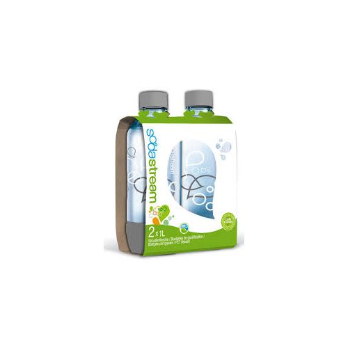 Pack bouteilles grise 1L Sodastream
