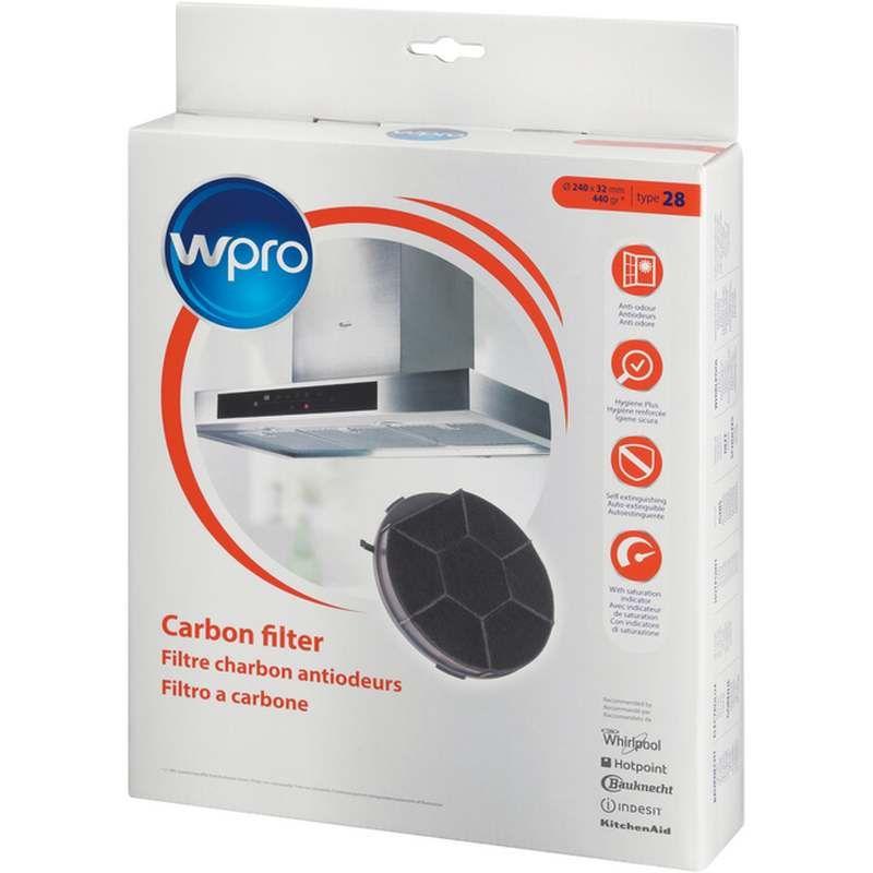 Filtre charbon type 28 hotte whirlpool 484000008576 for Hotte de cuisine filtre charbon