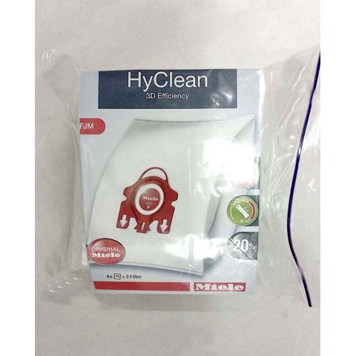 Sacs microfibre Type FJM Aspirateur Miele emballage...