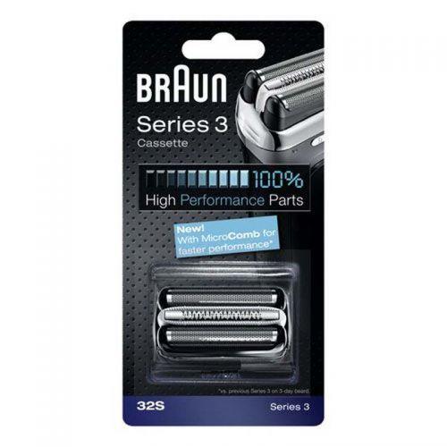 Cassette (grille&couteau) 32S Séries 3 Silver Rasoir...