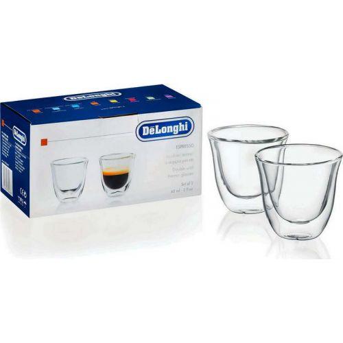 Tasses/Verres thermiques (x2) à double parois Espresso Delonghi (5513214591)