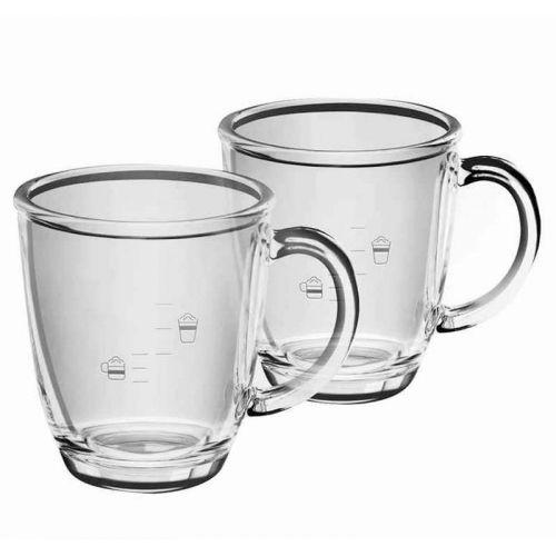 Stock limité ! Tasses en verre (x2) Café &...