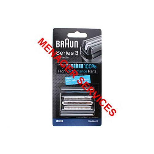 Cassette (Grille+Couteau) 32B Rasoir Braun (81633296)