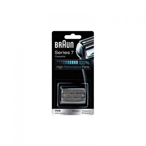Cassette (Grille+Couteau) 70S Séries 7 Rasoir Braun (81387979)