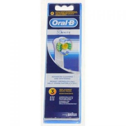 Brossettes (x3) Oral-B 3D Withe Braun (64708760)