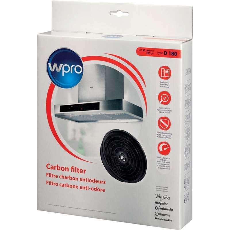 Filtre charbon hotte type d180 whirlpool 484000008647 for Hotte de cuisine filtre charbon