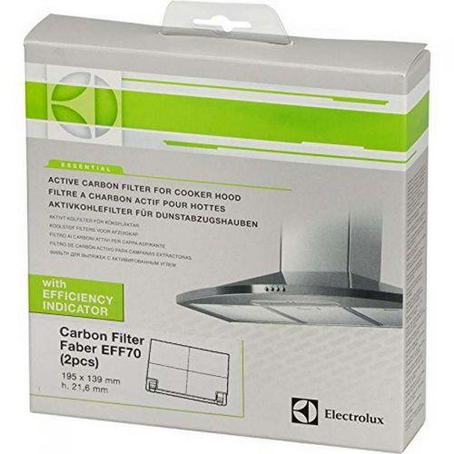 Filtre charbon (x2) Type EFF70 Hotte...