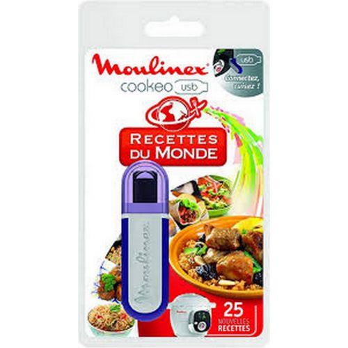 Cle USB recettes du monde Cuiseur Cookeo Moulinex