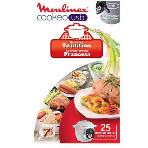Cookeo USB recettes tradition Cuiseur Moulinex (XA600211)