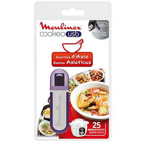 Clé USB recettes d'Asie Cuiseur Cookeo Moulinex
