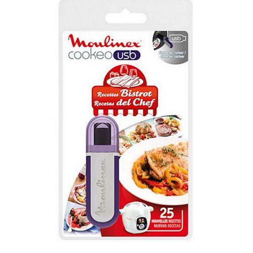 Clé USB recettes bistrot Cuiseur Cookeo Moulinex