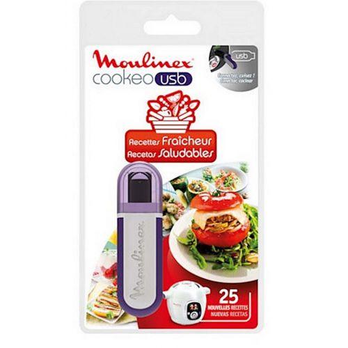 Clé USB recettes fraïcheur Cuiseur Cookeo Moulinex (XA600511)