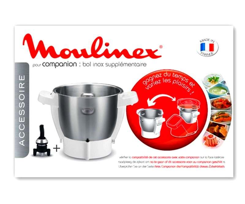 Bol Pour Companion Xl: Bol +Entraineur Robot Companion Moulinex