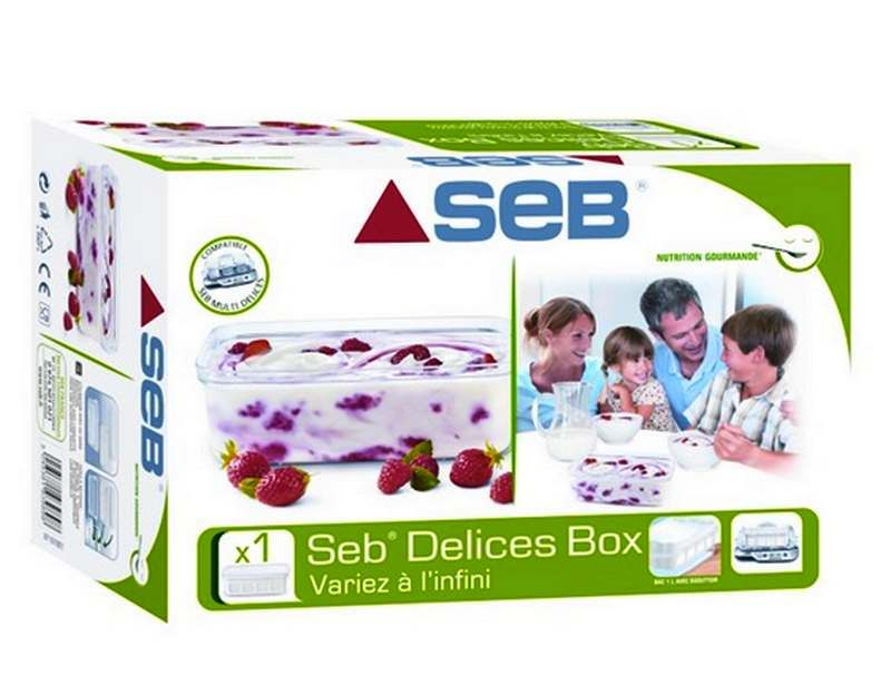 best price good quality design Delices Box Yaourtière Multi Délices Seb (XF101001)