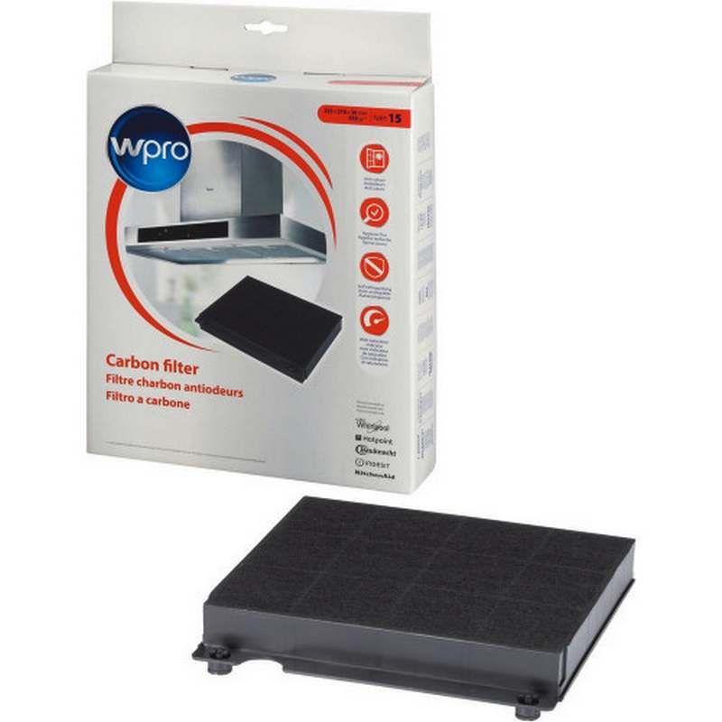 Filtre charbon type chf15 hotte whirlpool 484000008575 - Hotte de cuisine avec filtre a charbon ...