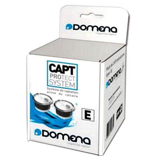 Cassettes (x2) Anticalcaire non EMC Type E Domena