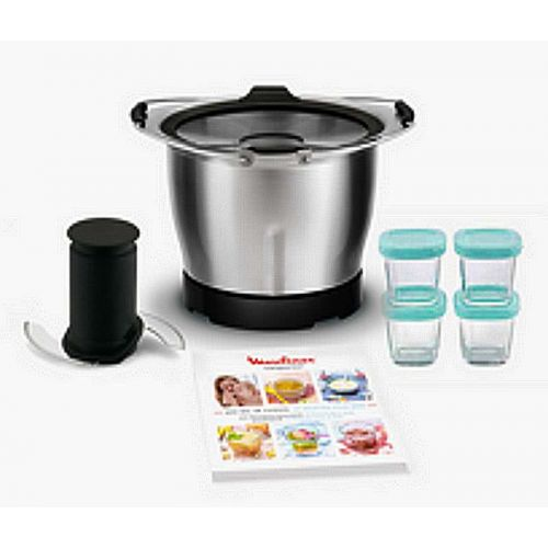 Mini-cuve+4 pots bébé+20 recettes Robot Companion...