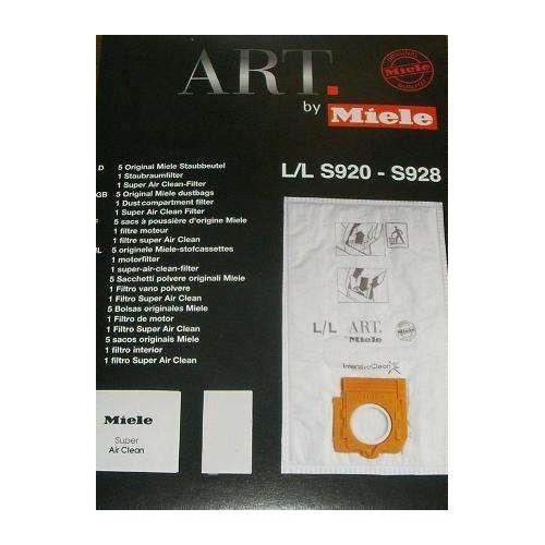 Sacs microfibre Type L/L Aspirateur Miele (5852650)