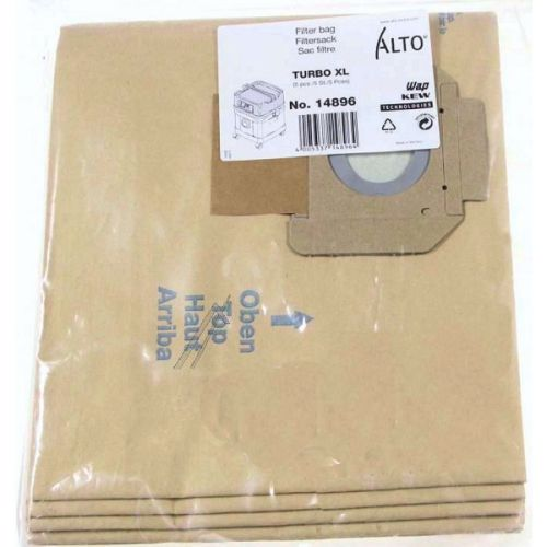 Sacs papier aspirateur Nilfisk ALTO Turbo XL (14896)