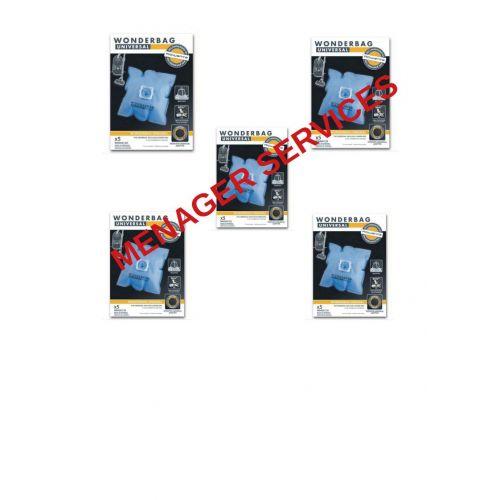 Lot de 5 boites Wonderbag Classic Aspirateur Rowenta (WB406120-5)