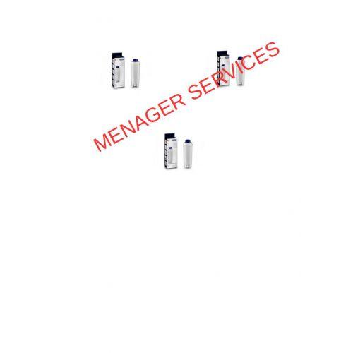 Lot de 3 Filtres à eau DLSC002 Expresso Delonghi (5513292811-3)