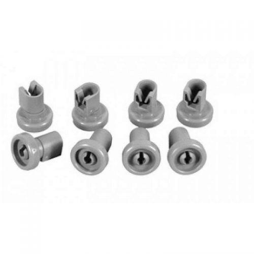 Kit roulettes (x8) Lave vaisselle Electroux/AEG