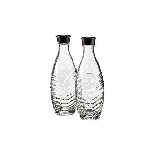 Lot de 2 carafes en verre SodaStream