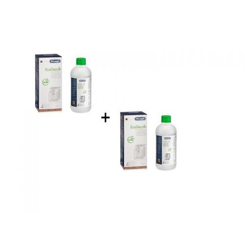 Lot de Détartrant (x2) EcoDecalk 500ml Delonghi