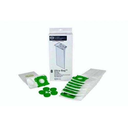 Sacs (x8) Microfibre Filterbox X/C/370 Aspirateur Sebo...