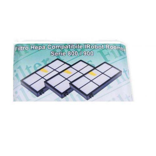 Filtres Hepa (x3) IRobot série 800/900 Roomba...