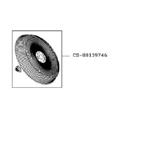 Grille arrière ventilateur Turbo Silence VU2640F0