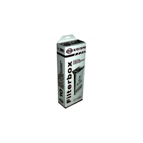 Sacs papier Filterbox X/C/370 Aspirateur Sebo (5093ER)