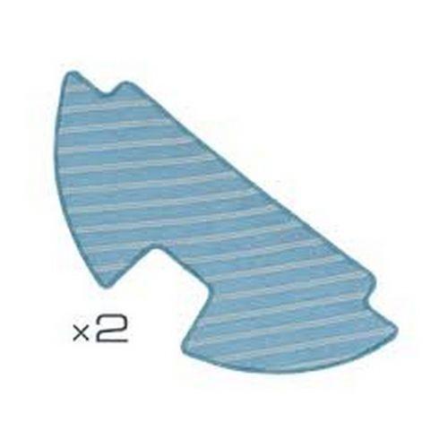 Lingettes microfibre x2