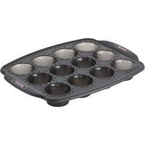 Moule mini muffin silicone  X12 CRISPYBAKE Cake Factory