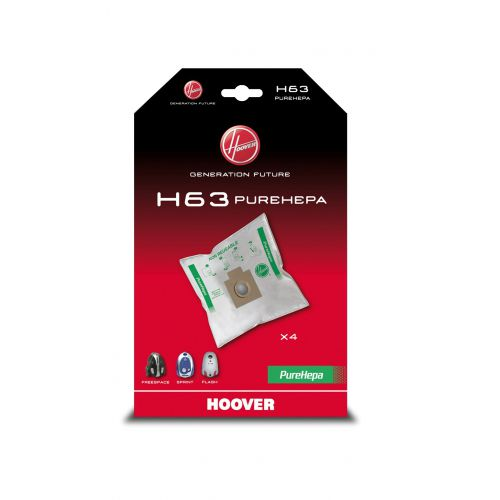 Sacs microfibre Sprint H63 Aspirateur Hoover (35600536)