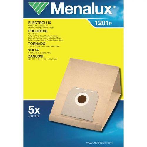 Sacs papier (x5) Aspirateur Electrolux/Menalux (1201P)