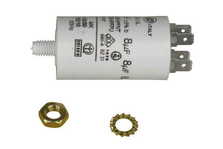 Condensateur 8mf lave s che linge universel interfilter 0000361 - Seche linge electrique ...