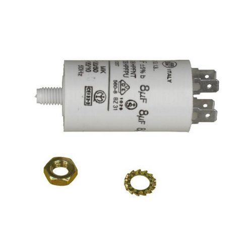 Condensateur 8MF Lave/Séche Linge Whirlpool