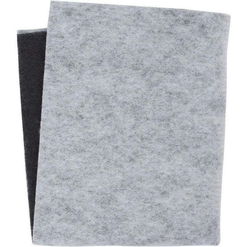 Filtre hotte charbon graisse 450g 470x570mm whirlpool for Hotte de cuisine filtre charbon