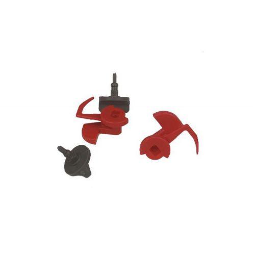 Verrous (x2) Hotte Bosch (00181272)