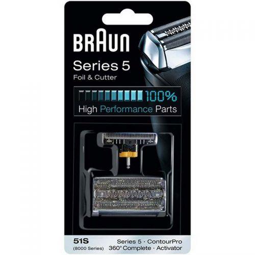 Grille & Couteau 51S séries 5 Rasoir Braun (81387975)